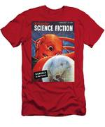 Science Fiction Magazine Men's T-Shirt (Athletic Fit)