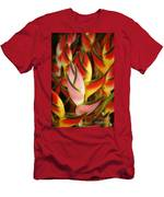 Bunch Of Heliconia Men's T-Shirt (Athletic Fit)