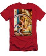 Curves And Lines  Men's T-Shirt (Athletic Fit)