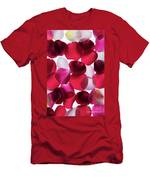 Back Lit Flower Petals 1 Men's T-Shirt (Athletic Fit)