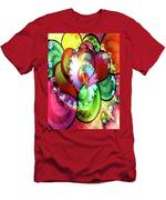 Colors Of Love Men's T-Shirt (Athletic Fit)