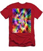 Rainbow Light Men's T-Shirt (Athletic Fit)
