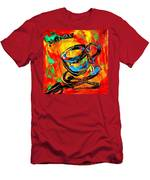 Coffee Cups Men's T-Shirt (Athletic Fit)