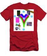 6-11-2015dabcdef Men's T-Shirt (Athletic Fit)