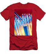 Laboratory Experiment In Science Research Lab Men's T-Shirt (Athletic Fit)
