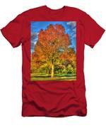 A Michigan Fall-2 Men's T-Shirt (Athletic Fit)