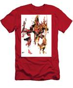 Abstract Expressionism Painting Series 744.102110 Men's T-Shirt (Athletic Fit)