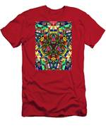 Abstract Of Abundant Colors Men's T-Shirt (Athletic Fit)
