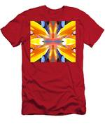 Abstract Paradise Men's T-Shirt (Athletic Fit)