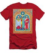 Adoration Of The Magi  Men's T-Shirt (Athletic Fit)