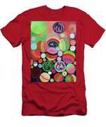 Allah Names - Circles Men's T-Shirt (Athletic Fit)