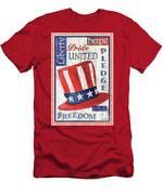 Americana Patriotic Men's T-Shirt (Athletic Fit)