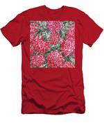 Peonies Love Men's T-Shirt (Athletic Fit)