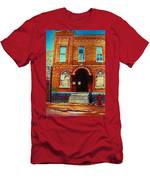 Bagg Street Synagogue Men's T-Shirt (Athletic Fit)