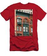 Brick And Green Men's T-Shirt (Athletic Fit)