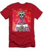 Bridezilla Dia De Los Muertos Men's T-Shirt (Athletic Fit)