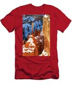 Bryce Canyon Winter 4 Men's T-Shirt (Athletic Fit)