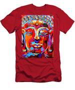 Buddha 3 Men's T-Shirt (Athletic Fit)