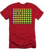 Bullseye Men's T-Shirt (Athletic Fit)