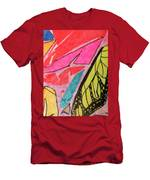 Butterfly Wing Men's T-Shirt (Athletic Fit)