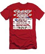 Campbells Mushroom Soup Squared Men's T-Shirt (Athletic Fit)
