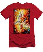Candle Fire  Men's T-Shirt (Athletic Fit)
