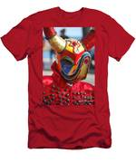 Carnival Red Duck Portrait Men's T-Shirt (Athletic Fit)