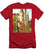 Cathedral Jazz Men's T-Shirt (Athletic Fit)