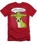 Chihuahua - I Killed A Squeaktoy In Reno Men's T-Shirt (Athletic Fit)