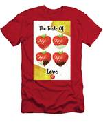 Chocolate - 7  Strawberry Men's T-Shirt (Athletic Fit)
