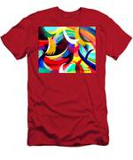 Colorful Abstract Art Men's T-Shirt (Athletic Fit)
