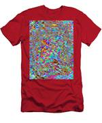 Confetti On The Fly Men's T-Shirt (Athletic Fit)