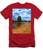 Country Clouds Men's T-Shirt (Athletic Fit)