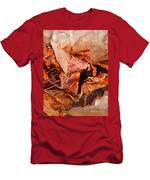 Curled Bark Men's T-Shirt (Athletic Fit)