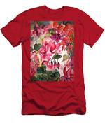 Cyclamen Men's T-Shirt (Athletic Fit)