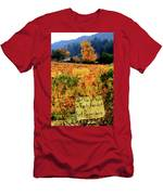 D8b6314 Autumn At Jack London Vinyard With Thanks To Firefighters Ca Men's T-Shirt (Athletic Fit)