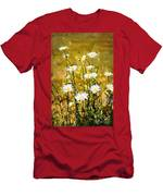 Daisy Field Men's T-Shirt (Athletic Fit)