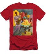 Dancing N Jammin In The Street  Abstract  Men's T-Shirt (Athletic Fit)