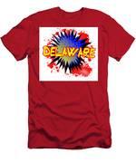 Delaware Comic Exclamation Men's T-Shirt (Athletic Fit)