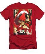 Meneater Evil Girls Men's T-Shirt (Athletic Fit)