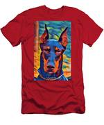 Doberman I C Men's T-Shirt (Athletic Fit)