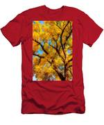 Dreamy Crisp Autumn Day Men's T-Shirt (Athletic Fit)