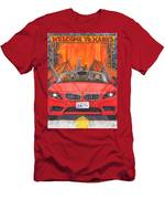Driving Like Bats Out Of Hell Men's T-Shirt (Athletic Fit)
