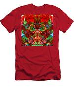 Electric Red Men's T-Shirt (Athletic Fit)