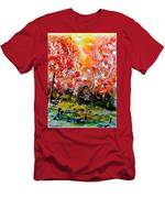 Exploding Nature Men's T-Shirt (Athletic Fit)