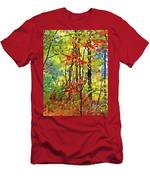 Fall Forest 2 Men's T-Shirt (Athletic Fit)