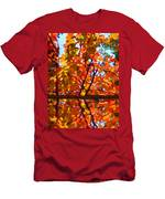 Fall Reflextion Men's T-Shirt (Athletic Fit)