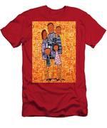 Family Portrait Men's T-Shirt (Athletic Fit)