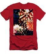Fireworks 2 Men's T-Shirt (Athletic Fit)
