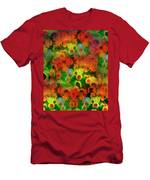 Floral Abundance Men's T-Shirt (Athletic Fit)